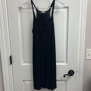 Thin Tank Top Flowy Dress